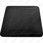 Black Rounded Corner Hard Card