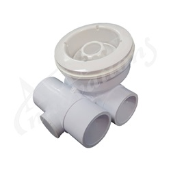 "JET ASSEMBLY: 3-1/4"" TS-III DIRECTIONAL NOZZLE, WHITE"