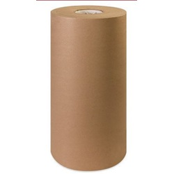 "18"" X 720' 50 LB BROWN KRAFT PAPER ROLL"