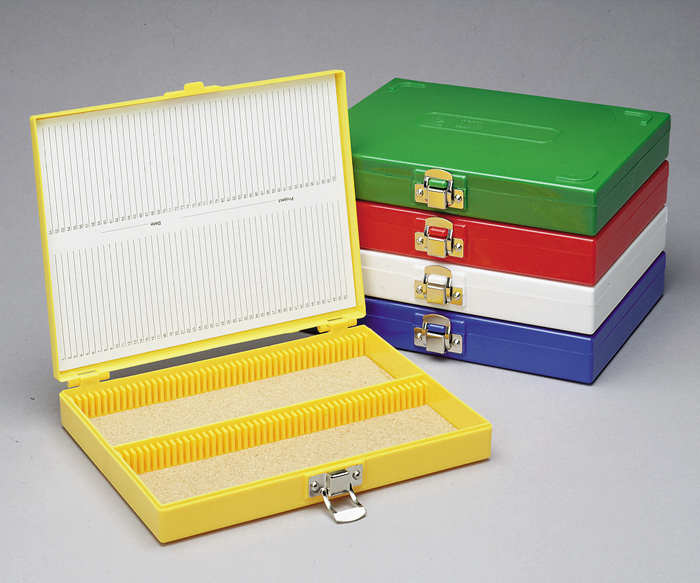 Click to view a larger image & Slide Storage Box - Heathrow Scientific | Weber Scientific