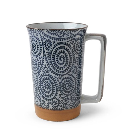 Blue Karakusa 12 oz. Tall Mug