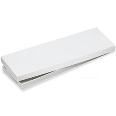 #8 14 X 5 X 3/4 WHITE TIE GIFT BOX 100/CS 100/CS