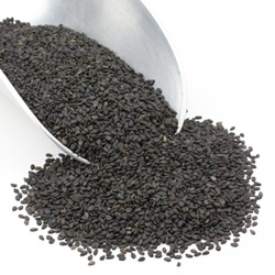 Sesame Seeds, Black, Natural - 5lb