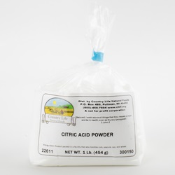 Citric Acid - 1lb