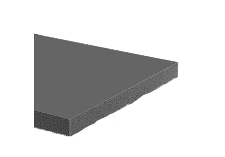 "Black 3/8"" Thick Polyethylene Foam Sheet 