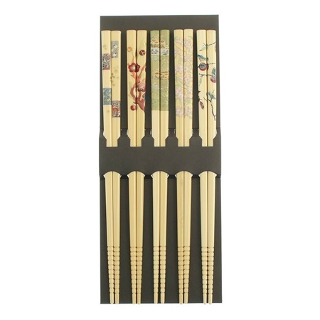 Chopsticks Set Bamboo Seasons
