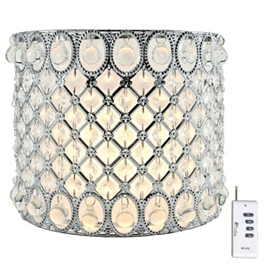 "8""H Glam Girl Cordless LED Wall Sconce"