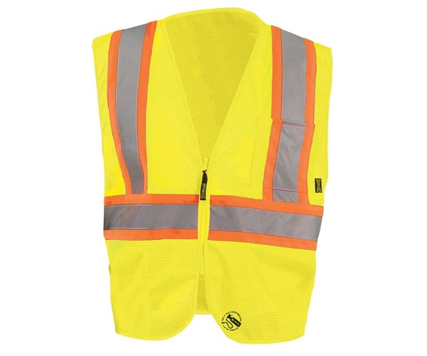 Self Extinguishing Two Tone Standard Vest