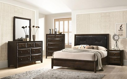 26640Q BRENTA QUEEN BED
