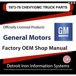 1973-1978 Chevy / GMC Truck Factory Parts, CD