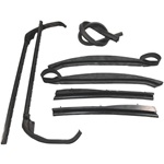 Convertible Roof Rail Weatherstrip Set