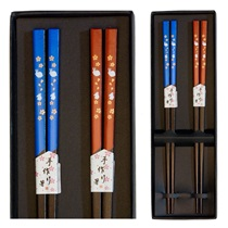 Rabbits & Sakura Chopsticks Set