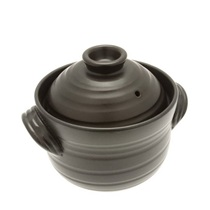 Rice Pot Banko Matte Black 2-go