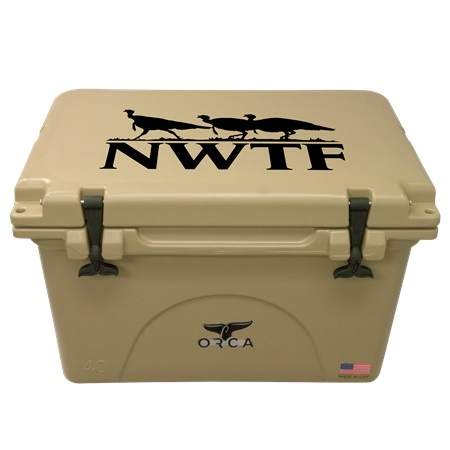 NRA Tan 40qt ORCA Cooler