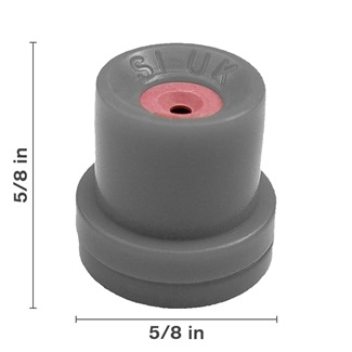 Grey Hollow Cone Ceramic Nozzle