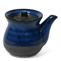 Namako Blue 8 Oz. Round Sauce Pot