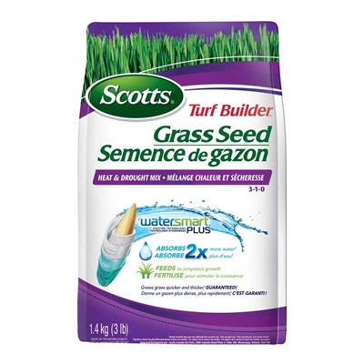 Scotts Turf Builder Grass Seed Heat & Drought