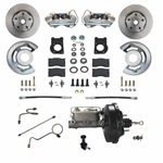 1971-73 Power Disc Brake Conversion Kit With  Automatic Transmissions