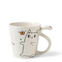 Cat Pals 8 oz. Mug Shiro