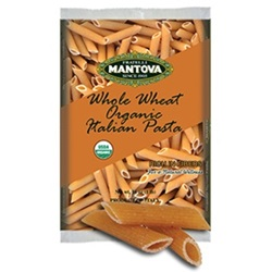 Whole Wheat Penne Rigate, Organic - 1lb
