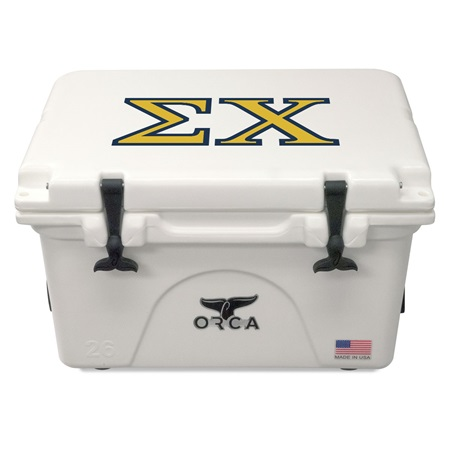 Sigma Chi White 26 Quart