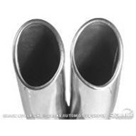 1967-69 Original Style Dual Exhaust Tips