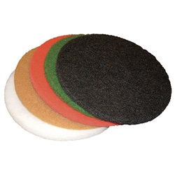 "Thick Floor Maintenance Pads - 10"" Round"