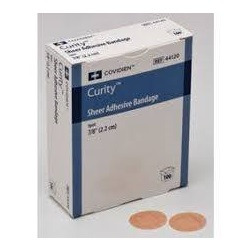 flesh color plastic curity adhesive spot bandage