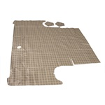 64-65 Falcon 2 Door Trunk Mat (Plaid)