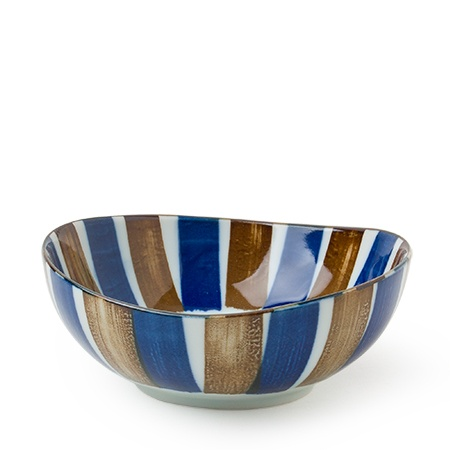 Sabi Tokusa Oval Bowl - Medium