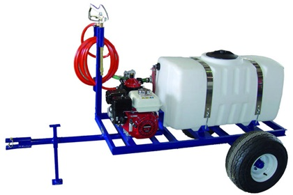 50 Gallon Spray Trailer