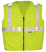 High Visibility Premium Mesh Gloss Safety Vests