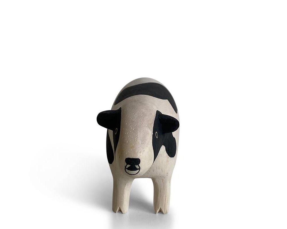 T-Lab Wooden Animal - Cow