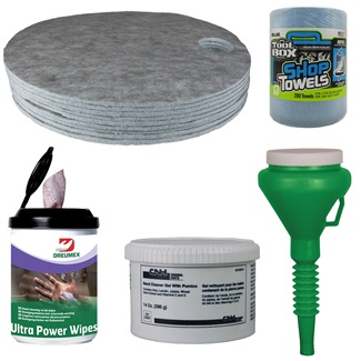 Shop & Cleaning Supplies