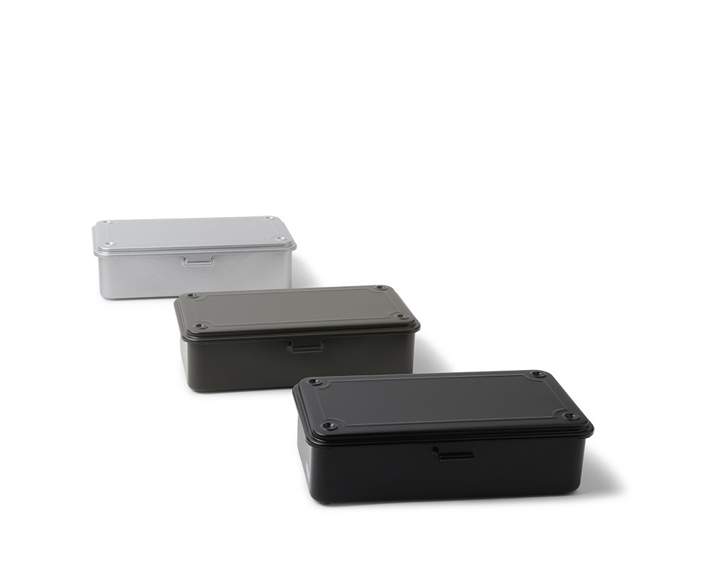 Toyo Steel Toolbox Small Silver
