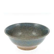 Blue Sand Crackle Bowl 8-1/2""