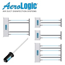 AeroLogic® UV Air Duct Disinfection Fixtures