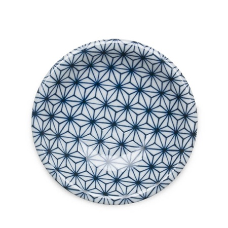 "ASANOHA COLORS 4.75"" DISH - BLUE"