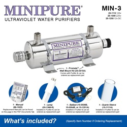 MINIPURE® MIN-3 What's Included