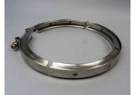 "Banjo 3"" Stainless Steel Line Strainer Clamp"