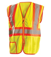 High Visibility Classic Mesh Two-Tone Safety Vests