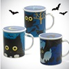 MIDNIGHT OWL 8 OZ. LIDDED MUG