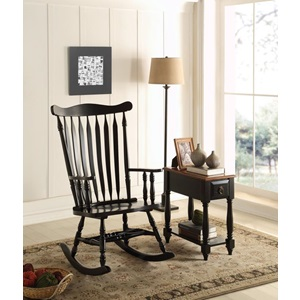 59211 BLACK ROCKING CHAIR