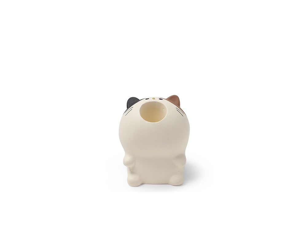 Pen Holder - Calico