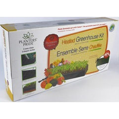 Deluxe Heated Seed Starting Greenhouse Kit
