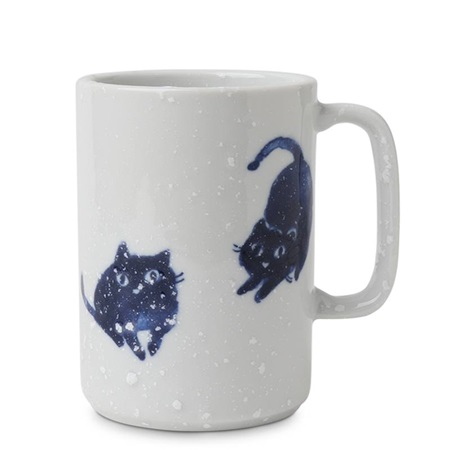 Mug Blue Cats 16 oz.