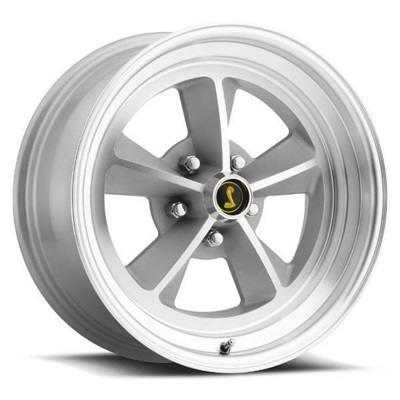 17 x 7 Legendary GT9 Alloy Wheel, 5 on 4.5 BP, 4.25 BS, Natural