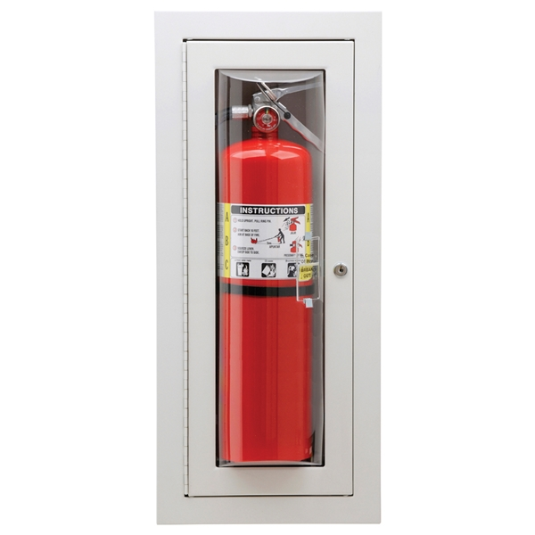 Nystrom fire extinguisher cabinets