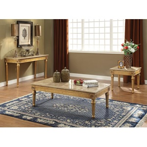 81715 COFFEE TABLE W/MARBLE TOP