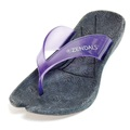 Zendals Resort Thong Spa Sandal, Lilac-Small